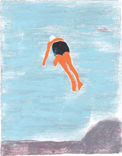 Katherine Bradford, 'Superheroes & Divers', 2014