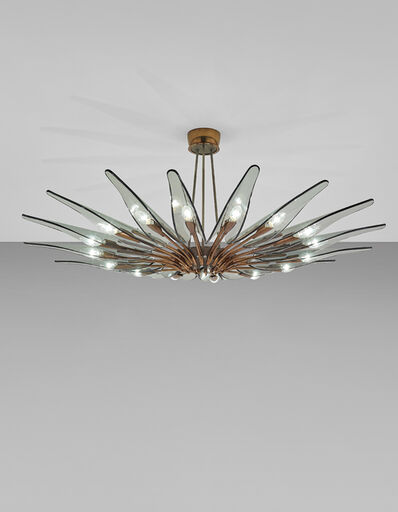 Max Ingrand, 'Dahlia' sixteen-armed chandelier, model no. 1563', circa 1954