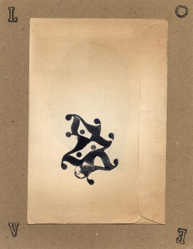 George Herms, 'Untitled (envelope symbol)', 2007