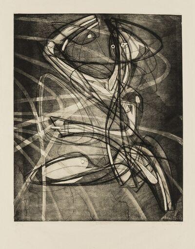 Stanley William Hayter, 'Sorcier (Black & Moorehead 209)', 1953