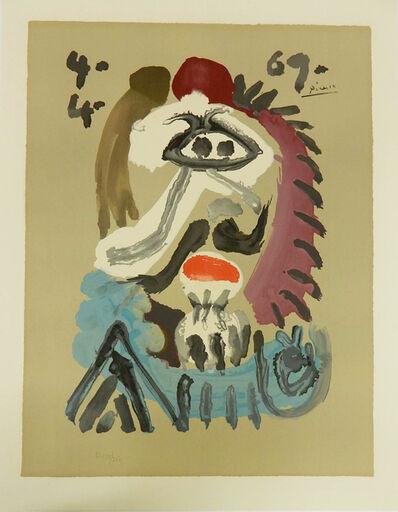 Pablo Picasso, 'Portraits Imaginaire', 1969