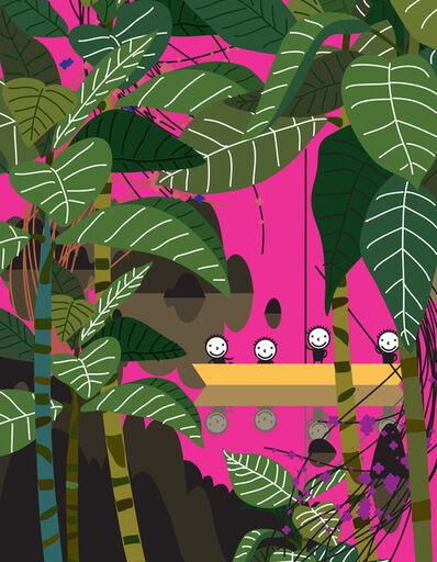 Kwon Kisoo, 'Study of Hot Pink', 2018