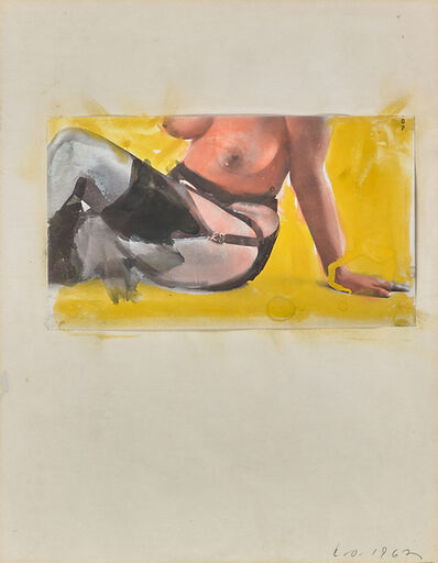 Claes Oldenburg, 'Untitled (Nude)', 1962