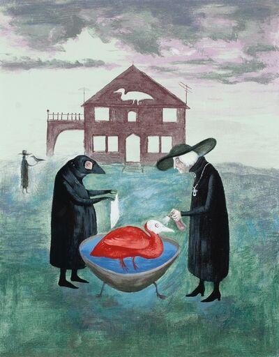 Leonora Carrington, 'Birdbath', 1978