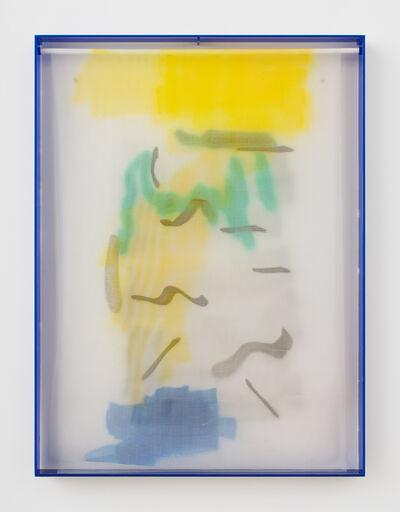 Strauss Bourque-LaFrance, 'Blue Tennis Smear', 2014