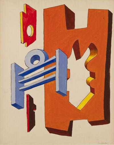 Charles Biederman, 'Untitled, Paris, January 1937', 1937
