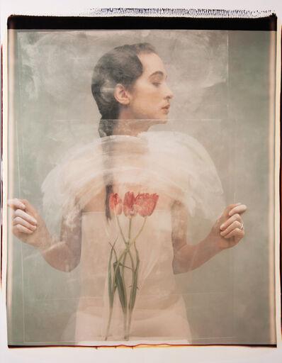 Joyce Tenneson, 'Woman and Tulips', ca. 1990