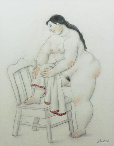 Fernando Botero, 'Donna che si asciuga (Woman drying herself)', 2006