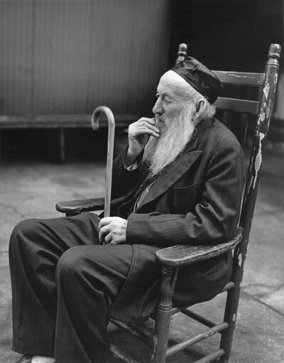 Fred Stein, 'Rabbi with Cane ', 1935