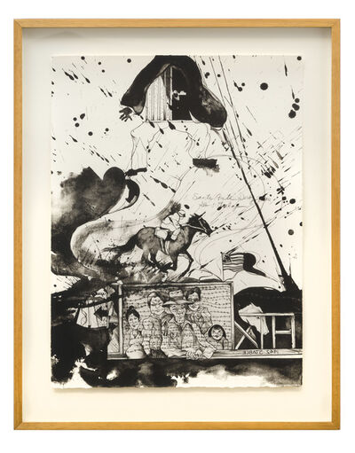 Matsumi Kanemitsu, 'Santa Anita Yesterday & Today', 1970