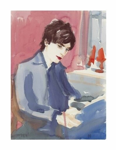 Elizabeth Peyton, 'Matthew in the Studio'