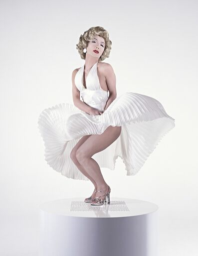 Yasumasa Morimura, 'Self-Portrait: White Marilyn 2', 1996