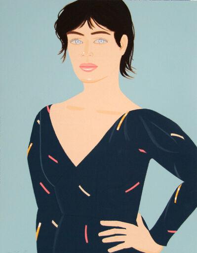 Alex Katz, 'Grey Dress (Laura) Diane von Furstenberg Dress', 1992
