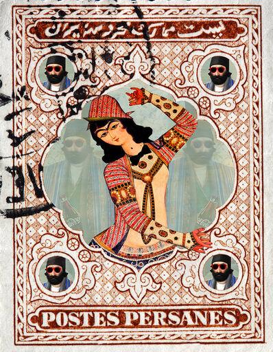 Rabee Baghshani, 'Woman Stamp #1', 2020