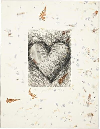 Jim Dine, 'The Jewish Heart (D'Oench and Jean Feinberg, 138)', 1982