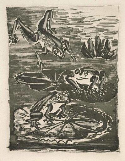 Pablo Picasso, 'The Frog (Histoire Naturelle - Textes de Buffon, B.357)', 1942