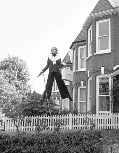 Geof Kern, 'model with garden hose', 1994