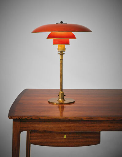Poul Henningsen, 'Early desk lamp, type 4/3 shades', 1926-1928