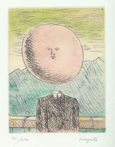 René Magritte, 'L'Art de Vivre ou Coup d'Œil / The Art of Living or Glance', 1968