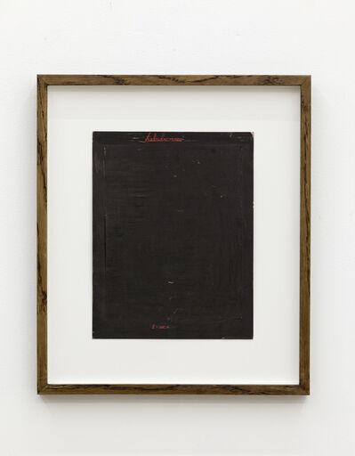 Mangelos, 'tabula rasa (2 serie a)', 1951-1956