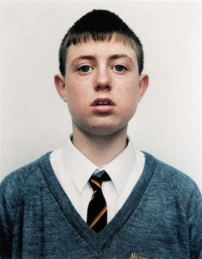 Rineke Dijkstra, 'The Nugent R.C. Highschool, Liverpool, England, November 11, 1994', 1994
