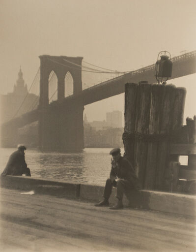 Paul Outerbridge, 'Brooklyn Bridge', 1921