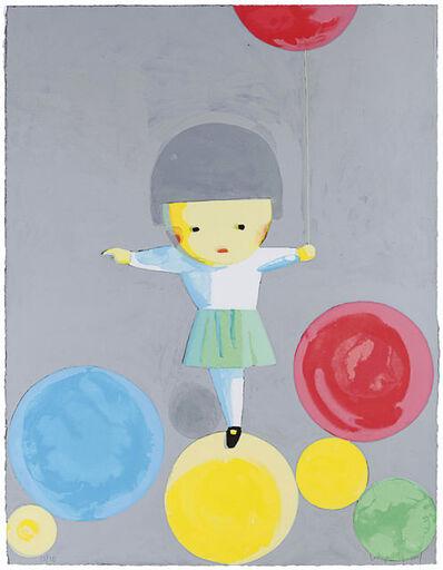 Liu Ye 刘野, 'Little Girl With Balloons', 2001