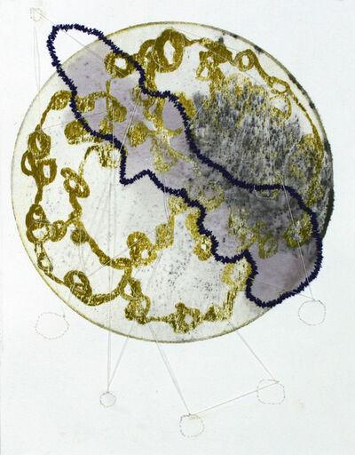 Elizabeth Stern, 'purple divide', 2018