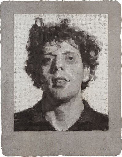 Chuck Close, 'Phil/Manipulated', 1982