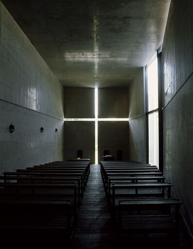 Tadao Ando, 'Church of the Light (color 1500 A)', taken in 1989-printed in 2019
