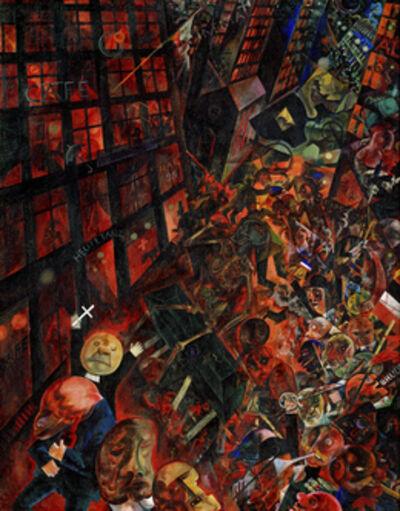 George Grosz, 'Der Leichenzug, Widmung an Oskar Panizza (The Funeral, Dedicated to Oskar Panizza)', 1917-1918
