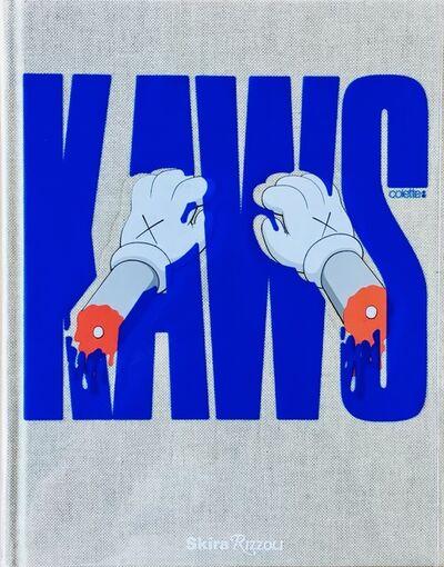 KAWS, 'Signed KAWS Colette x Rizzoli artist book (KAWS Rizzoli blue cover) ', 2010