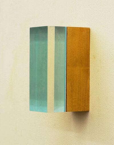 Harald Schmitz-Schmelzer, 'Maulbeere, hellblau transparent', 2017