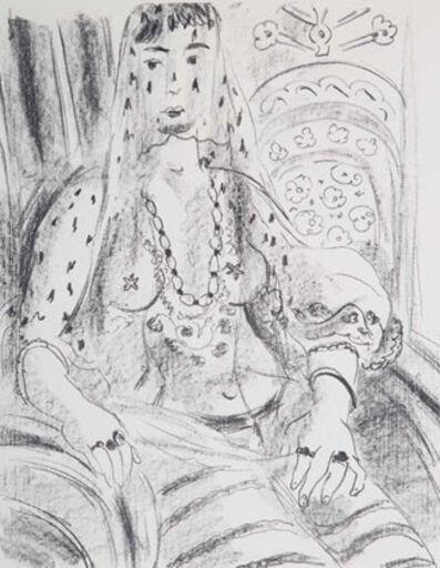 Henri Matisse, 'Odalisque voilee', 1925