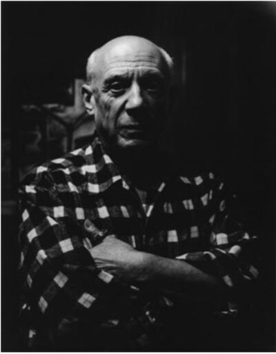 Lucien Clergue, 'Picasso'