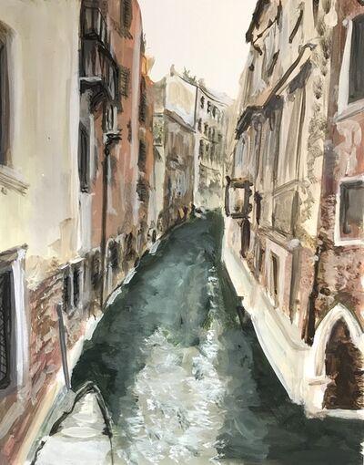Soula Mantalvanos, 'Canal 1, Venice (framed)', 2018