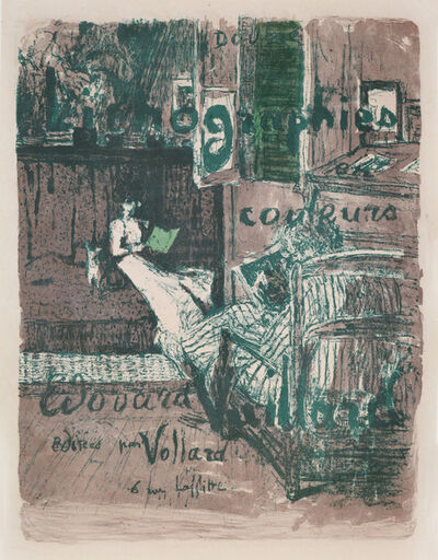 Édouard Vuillard, 'Cover for the Album Landscapes and Interiors', 1899