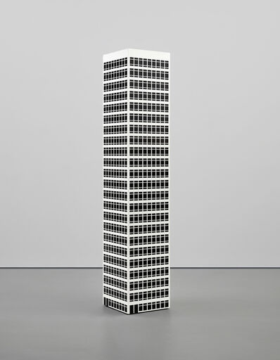 Julian Opie, 'Modern tower. 10', 2001