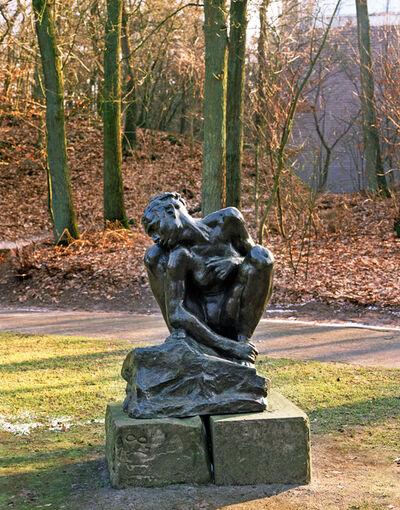 Auguste Rodin, 'Squatting woman', 1882
