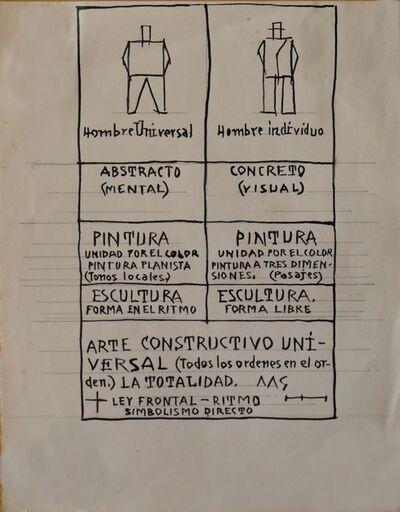 Joaquín Torres-García, 'Abstracto Concreto', Undated