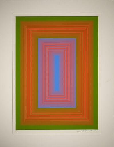 Richard Anuszkiewicz, 'Plate V', 1972