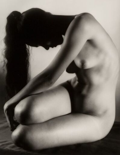 Ruth Bernhard, 'Dancer in Repose', 1951-printed later
