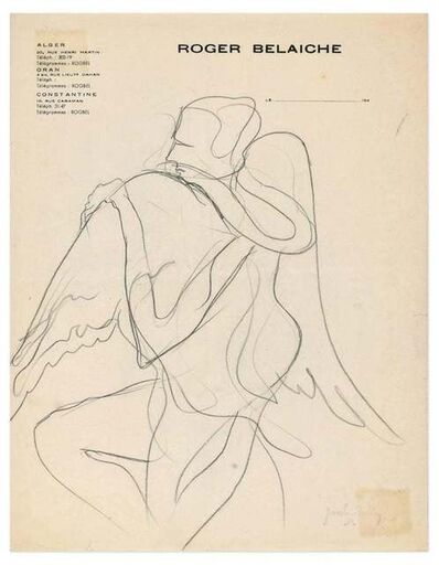 Josselin Bodley, 'Winged Figure', 1940