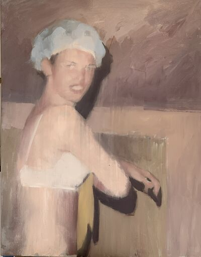 Mark Tennant, 'Shower Cap', 2020