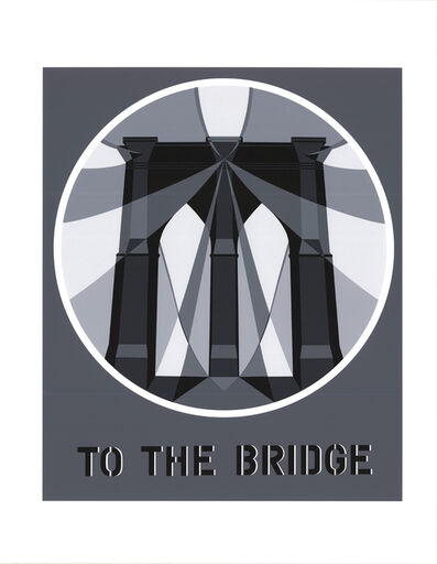Robert Indiana, 'To the Bridge (Brooklyn Bridge)', 1997
