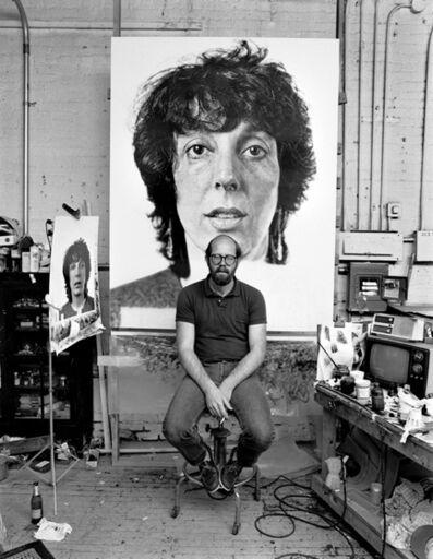 Kurt Edward Fishback, 'Chuck Close', 1982