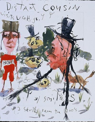 Brad Kahlhamer, 'Ugh Jr. With Smileys', 2000