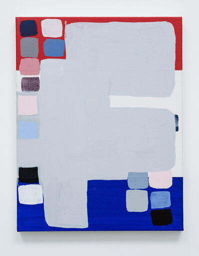 Meg Cranston, 'Red, White, Blue, Black', 2016