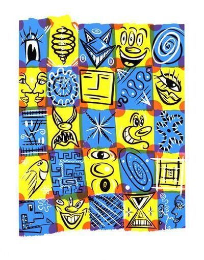 Kenny Scharf, 'Check Fest', 1999
