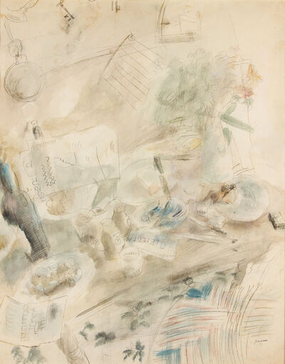 Jules Pascin, 'Still Life at Sanary', 1927